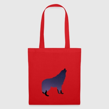 WOLF motif design gift idea birthday style - Tote Bag