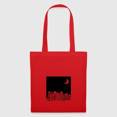 Night Sky Skyline - Tote Bag