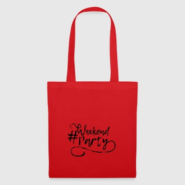 Party weekend hashtag gift celebration beer - Tote Bag