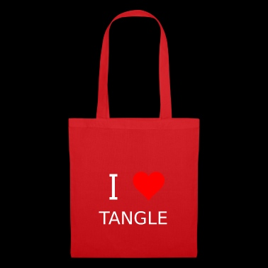 I love Tangle - Stoffbeutel