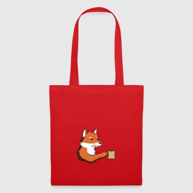 Coffee for me Fox gift idea funny in the morning - Tote Bag