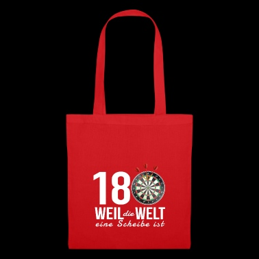 Dart 180 - Because the world is a disc - Tote Bag