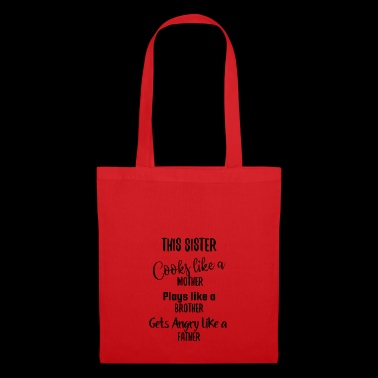 Sister gift family big little girlfriend - Tote Bag