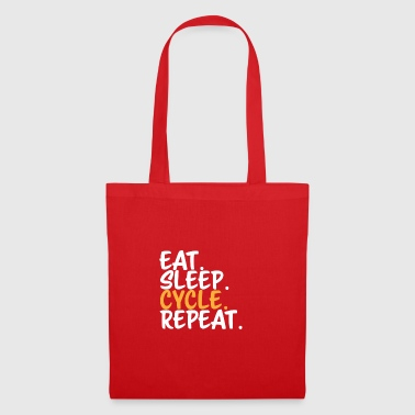 CYCLING Eat Sleep - Tote Bag