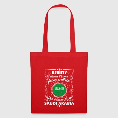 beauty comes from SAUDI ARABIA png - Tote Bag