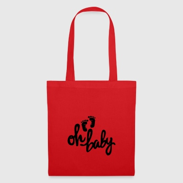 Oh baby! Baby feet. - Tote Bag
