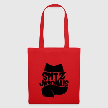 Spitz Japanese Silhouette - Tote Bag