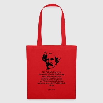 Twain: The reality is stranger than the Dic - Tote Bag