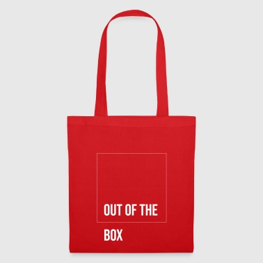 Out of the Box! Cadeau frais pour Andersdenker - Tote Bag