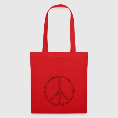 Musical Hippie - Tote Bag