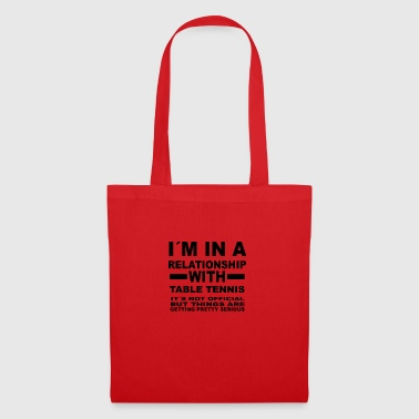 Relationship with TABLE TENNIS - Tote Bag
