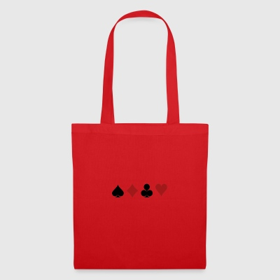 Poker Black Jack Ass Devil Devil Ange Carte Casino - Tote Bag
