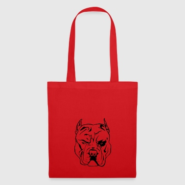 Pitbull Chien agressif - Tote Bag