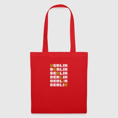 Berlin white - Tote Bag