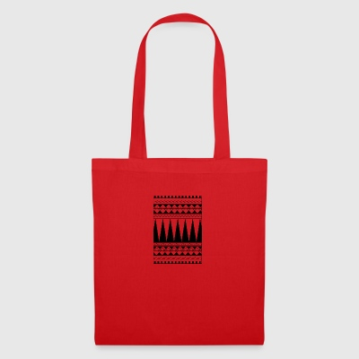 Tattoo ligne de tribu Maori - Tote Bag
