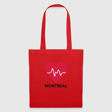 Heart Montreal - Tote Bag