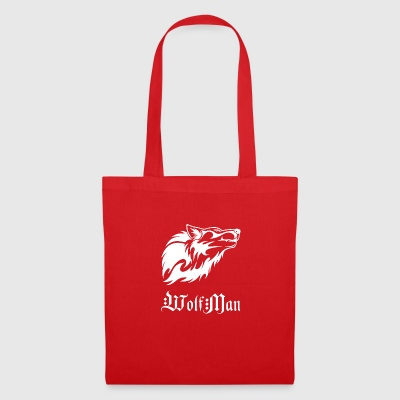 wolfman wite - Tote Bag