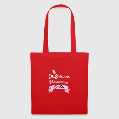 Une Vietnamienne en or - Tote Bag