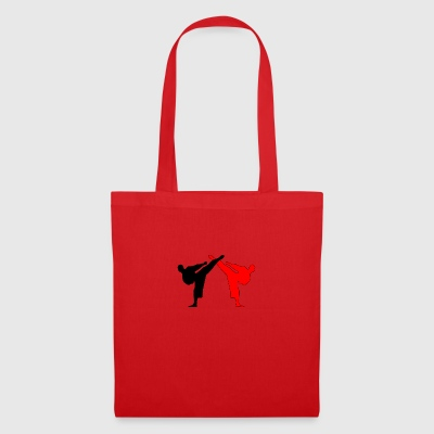 Kickboxer MMA 2 Fighter Shadow Style - Tote Bag