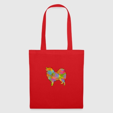 Japanese Spitz Multicolored - Tote Bag