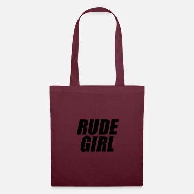 Rude Girl Rude girl black - Tote Bag