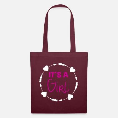 Feet It's a Girl Pregnancy Gift - Tote Bag