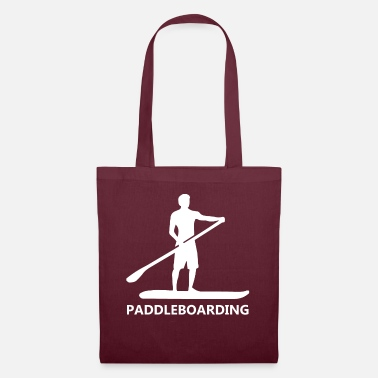 Paddle Paddle Boarding or Paddle Surfing - Tote Bag