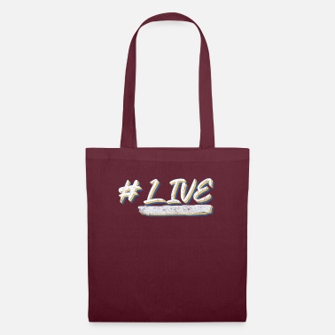 Lives live #live - Tote Bag