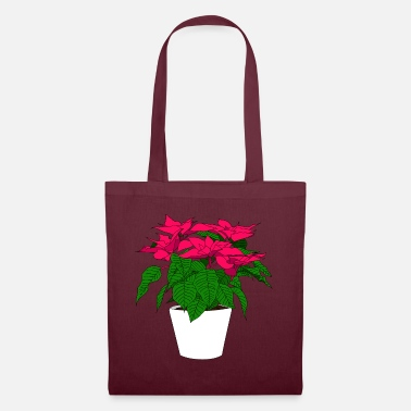 Poinsettia Poinsettia flower - Tote Bag