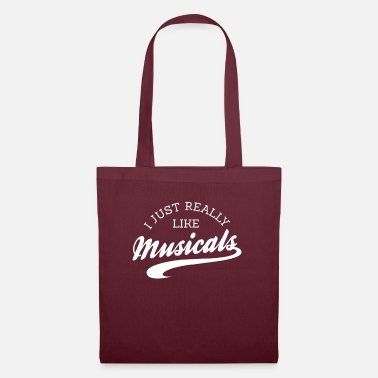 Theatre I Really Like Musicals No. 9 - Tote Bag
