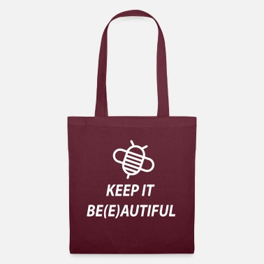 Keep It Beautiful red de bijen cadeau idee - Stoffentas