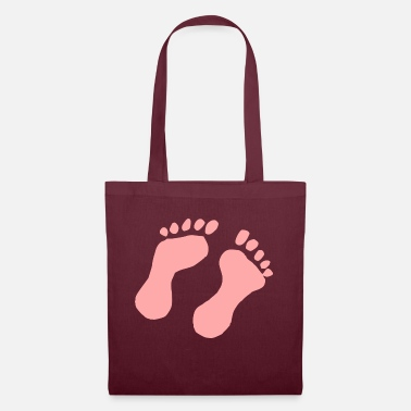 Foot Foot print Baby girl - Tote Bag