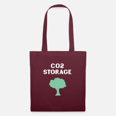 Carbon Dioxide The tree as a carbon dioxide storage - Tote Bag