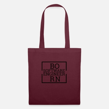 Computer Born software engineer | Computer science - Tote Bag