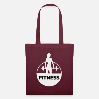 Fitness - Lifting weights - Tote Bag