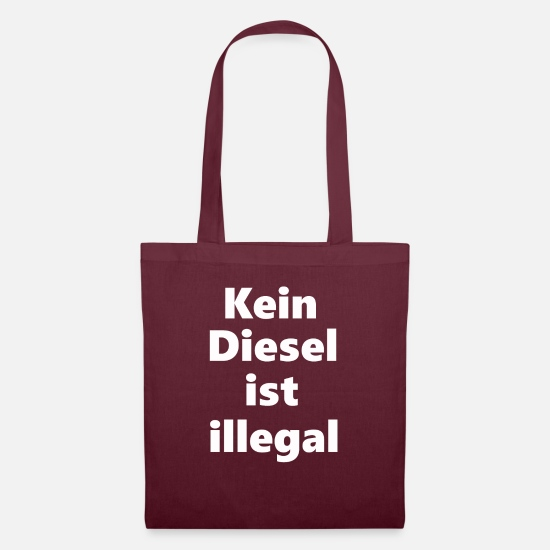 Diesel Bags & Backpacks - diesel - Tote Bag burgundy