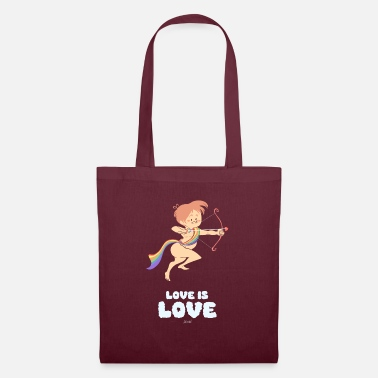 Cupido Cupido Love is Love - LGTB - DeLucilles - Tote Bag