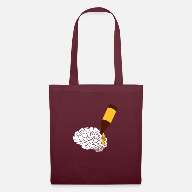 Dumb Party brain design - Tote Bag
