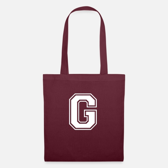 Grizzly Bags & Backpacks - g - Tote Bag burgundy