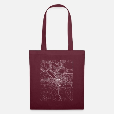 New York City Minimal Syracuse city map and streets - Tote Bag