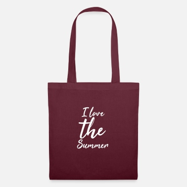 I love the summer - Tote Bag