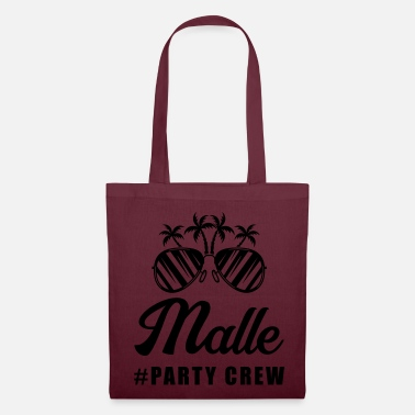 Party occhiali da sole malle party crew - Borsa di stoffa