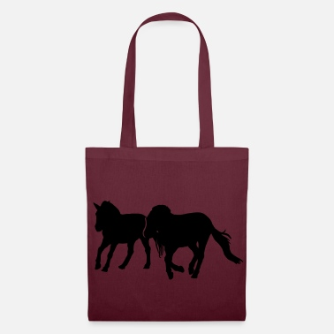 Galop chevaux au galop - Tote Bag