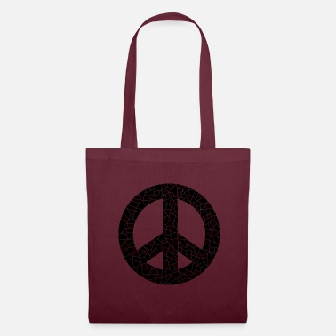 Global Peace symbol drawing - Tote Bag