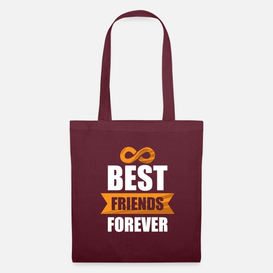 Love Bags & Backpacks - friends - Tote Bag burgundy
