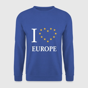 I Love Europe / I Heart Europe (Europa) - Felpa da uomo