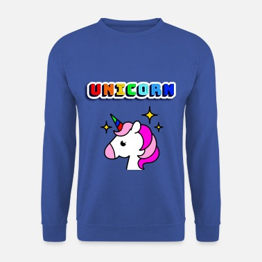 licorne - Sweat-shirt Homme