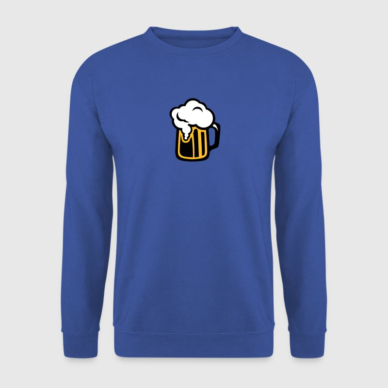 icon biere dessin logo alcool 312 - Sweat-shirt Homme