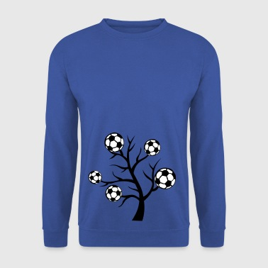foot arbre branche ballon - Sweat-shirt Homme