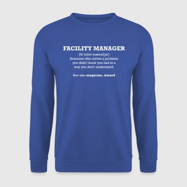 facility manager - wizard - Herre sweater